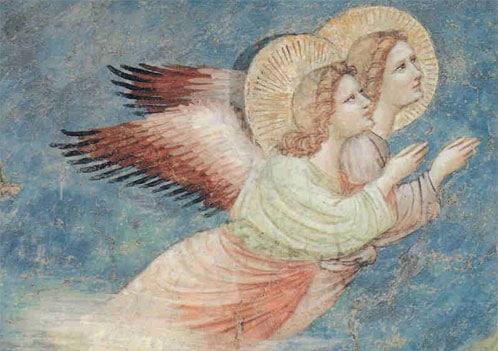 Les anges dans la création