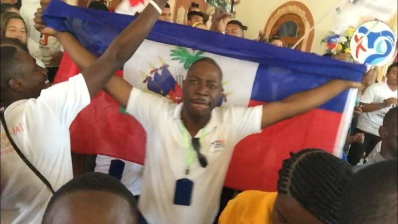 Des jeunes Haïtiens aux JMJ de Panama avec le Foyer de Charité de Port-au-Prince